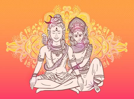 Shiva와 Shakti의 결혼 전설은 Mahashivaratri의 축제와 관련된 가장 중요한 전설 중 하나입니다. 이 결혼에서 지혜의 전쟁 Skanda와 Ganesha 신의 신이 태어났습니