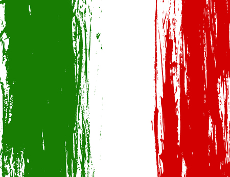 italy background: Illustration of the flag of Italy. Vector illustration. National flag. Illustration Day of Proclamation of the Republic of Italy. The flag has a green white red