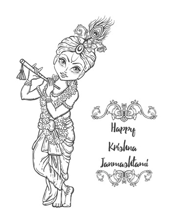 baby krishna stock photos & pictures. royalty free baby krishna ... - Baby Krishna Images Coloring Pages