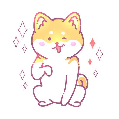 Cute cat drawing Vectores