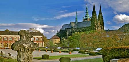 vitus: Prague castle - St. Vitus cathedral, Czech republic