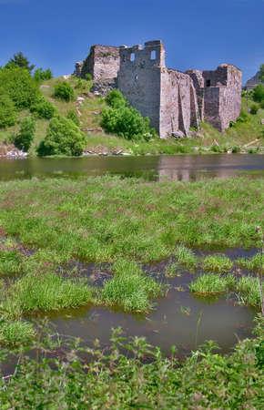 Borotin - ruin of a medieval castle in south Bohemia
