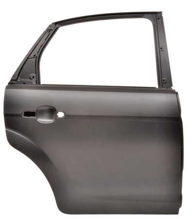 spar: spar metal plate car door isolated Stock Photo