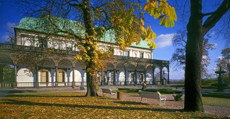 summerhouse: Belveder - Queen Ann summerhouse at Prague castle - Czech republic Editorial