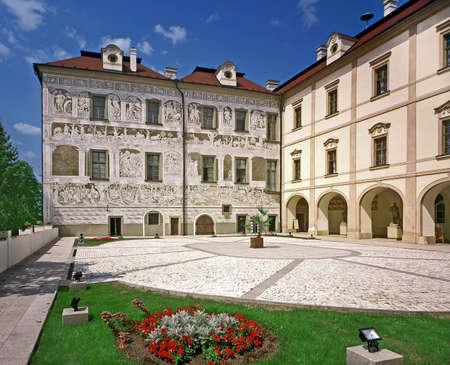 Benatky nad Jizerou castle - Czech republic