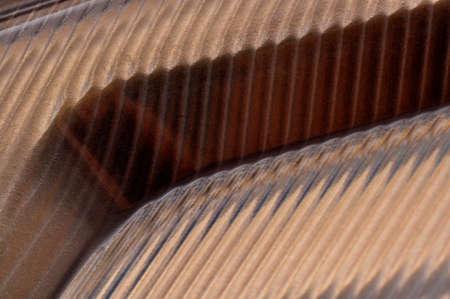 geometric rythmical structure on glass Standard-Bild