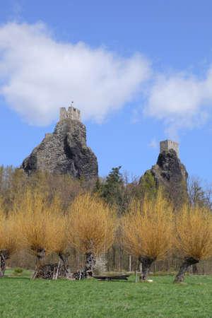castle Trosky - Czech republic