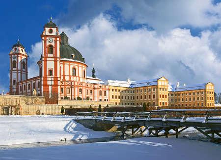 Jaromerice nad Rokytnou - baroque castle - Czech Republic