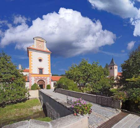 bohemia: Kratochvil renaissance castle in South Bohemia - Czech Republic