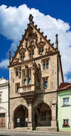 Kutna Hora - stone house - medieval house