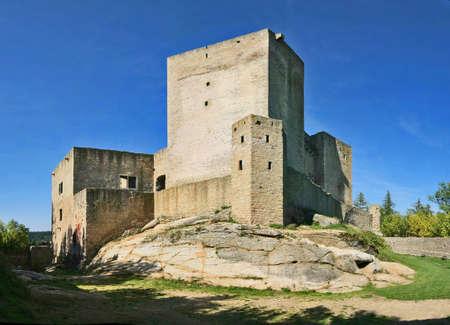 Czech republik - Landstejn castle Standard-Bild