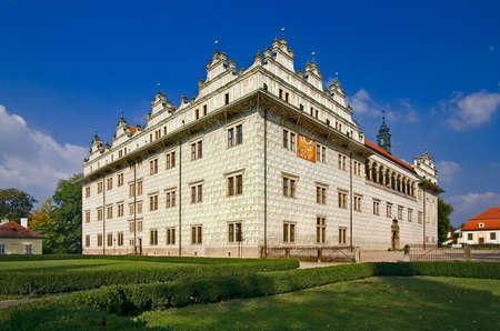 unesco: Litomysl castle UNESCO heritage monument - Czech republic Editorial