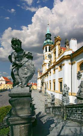 Prag - Loreta barocke Anlage - Tschechische Republik Standard-Bild - 54012287