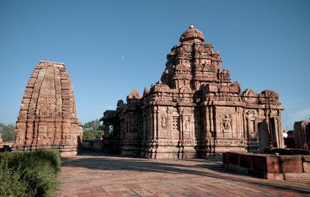 Group of ancient temples at Pattadakal, karnataka, India