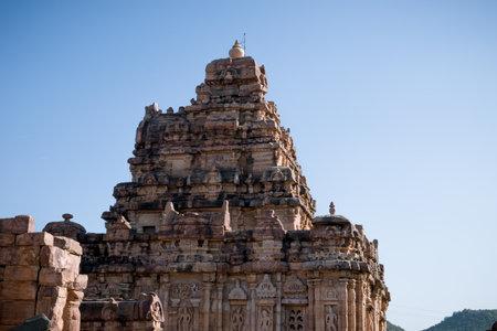 Ancient Sangameshwara temple at Pattadakal, karnataka, India