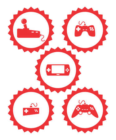 game joystick icon Stock Vector - 20221721