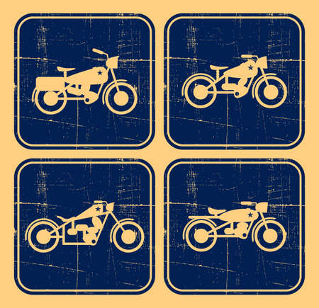 old bike icon Vector