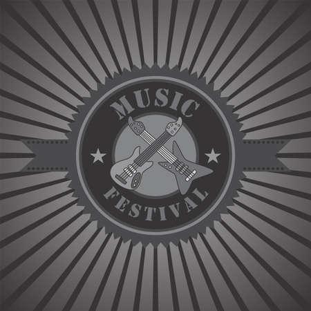 music theme design Vector