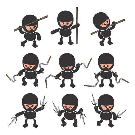 ninja: ninja cartoon