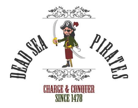 cartoon pirate villain Stock Vector - 20478087