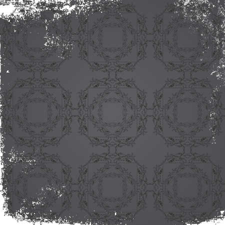 art background pattern ancient grey Vector