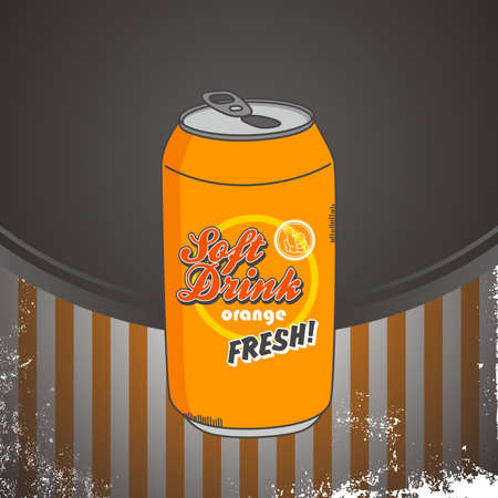 orange drink Vector