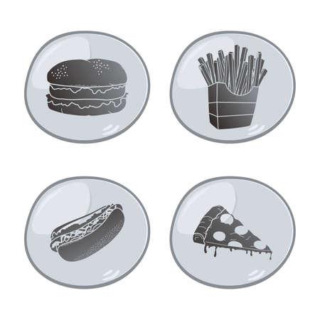 food icon grey Vector