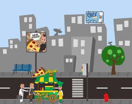 ベンダー食品市 3