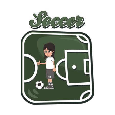 soccer art germany Vector