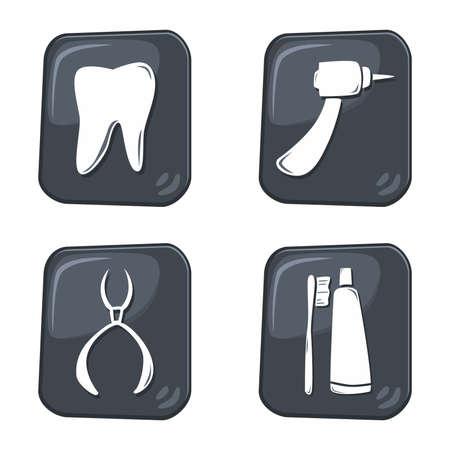 dental icon Illustration