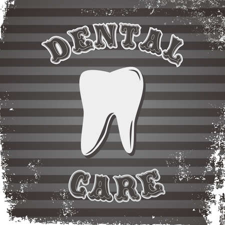 dental icon tooth Vector