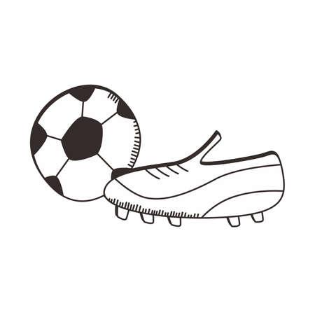soccer shoe: soccer shoe ball