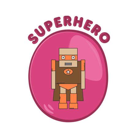 heroic: hero button brown guy