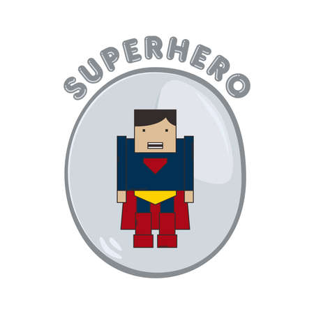 super guy: hero button super guy