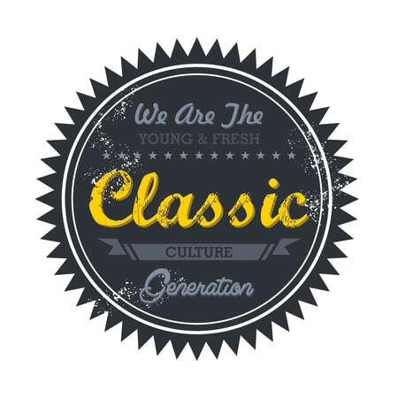 music genre token classic Stock Vector - 20570499