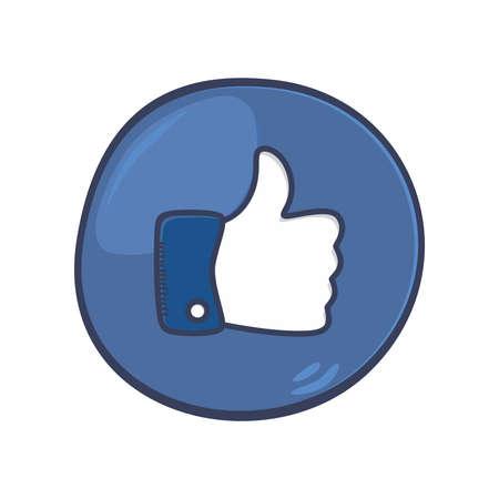 thumb gesture Vector