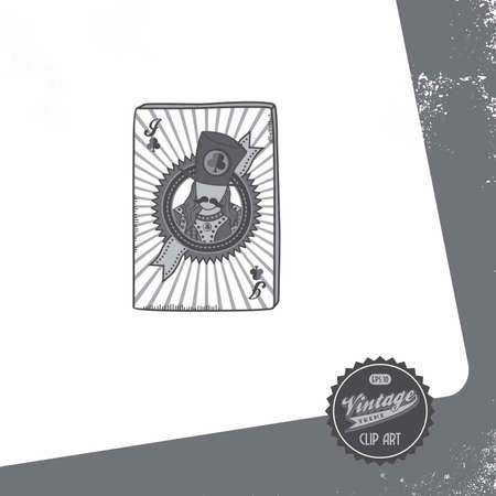 vintage page poker jack spade