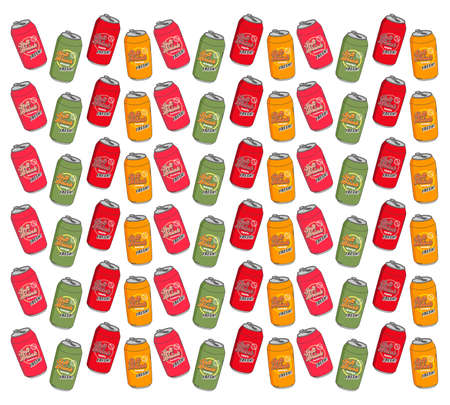 soft drink pattern