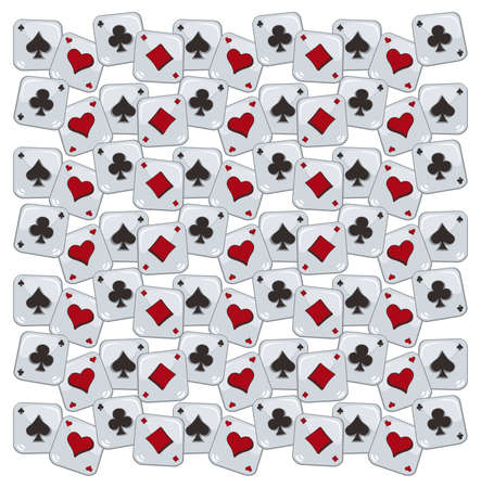 solitaire: poker pattern