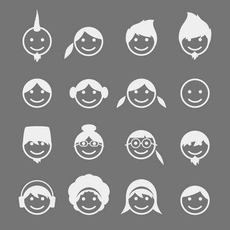 portrait head avatar