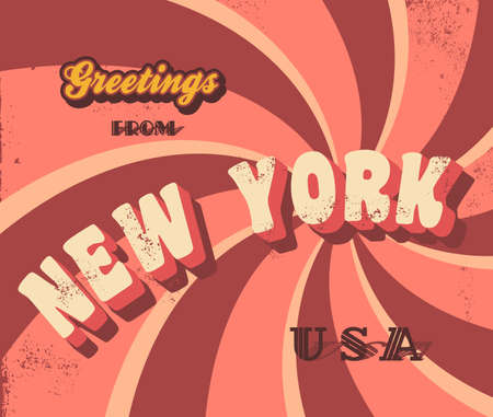 new york greeting sign