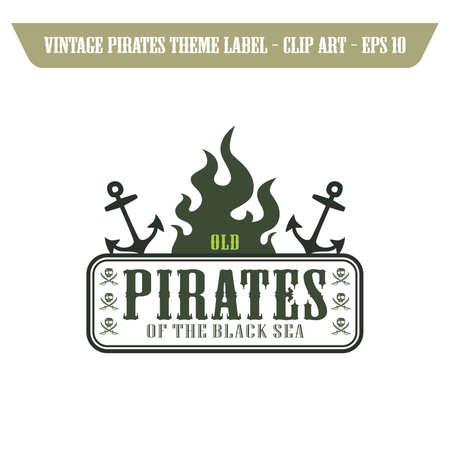 daring: pirates label