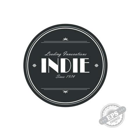 indie: indie label Illustration