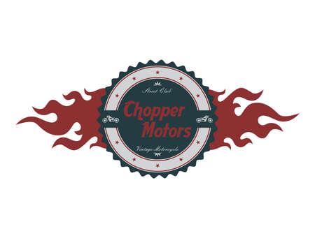 chopper label