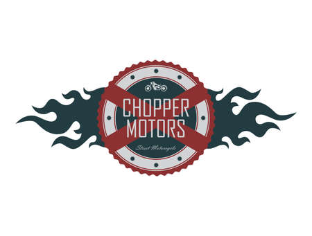 wheal: chopper motors Illustration