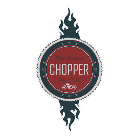 wheal: chopper label flame