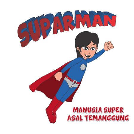 super guy: super guy Illustration