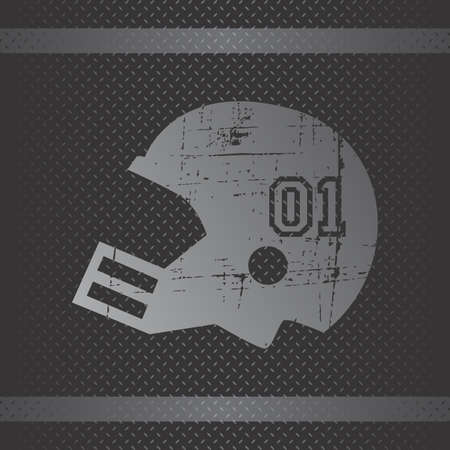 helmet football Stock Vector - 21285322