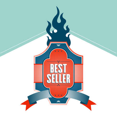 best seller fire Vector