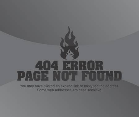 page not found: page error grey